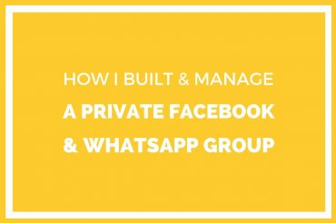 How I Built & Manage Closed Facebook & WhatsApp Group in Nigeria