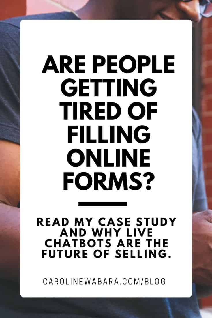 are online forms becoming obsolete